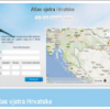 Interaktivni Atlas vjetra Hrvatske
